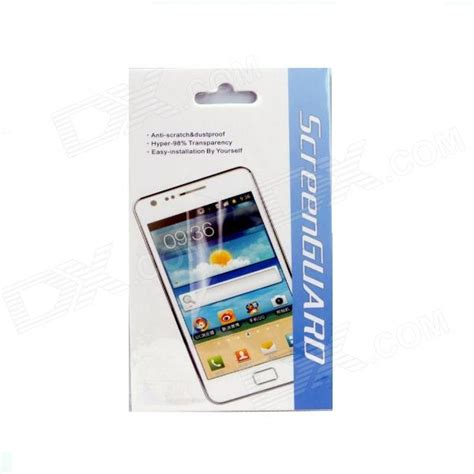 For Samsung Galaxy Mega 6 3 I9200 Clear Hardcase protective clear screen protector guard for samsung