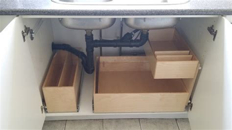 the sink pull out shelving installation toronto