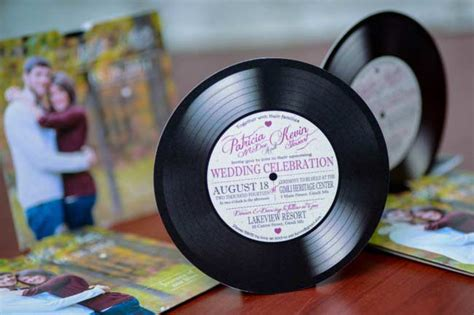 record label wedding invitations custom vinyl record wedding invitations canada empire