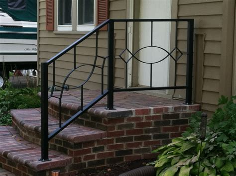 Front Door Railings Custom Decorative Railing