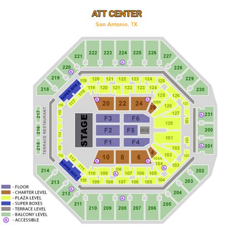 att center seating map at t center concert and event schedule venue history