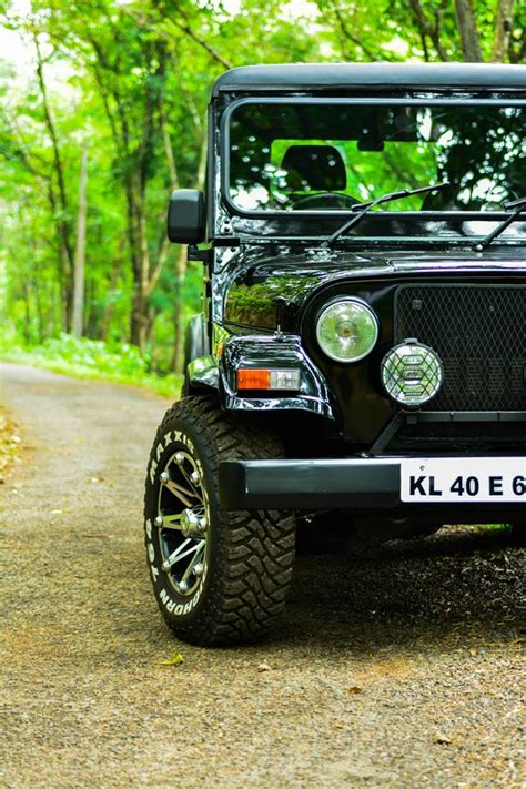 jeep modified black the 25 best mahindra thar modified ideas on