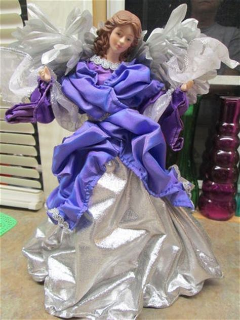 purple angel tree topper pin by d 233 sir 233 e medina on decor ideas