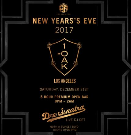new year los angeles schedule celebrate 2017 in style los angeles top new year s