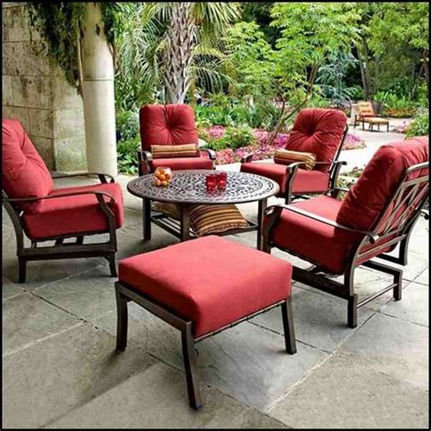 patio furniture garden treasures patio furniture replacement cushions best