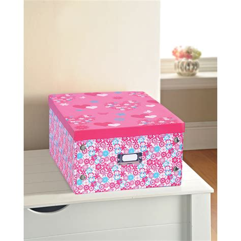 printer paper storage b m gt floral print paper storage box large hearts 2912682