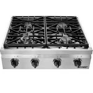 Stainless Steel Gas Cooktop Shop Dacor Distinctive 4 Burner Gas Cooktop Stainless
