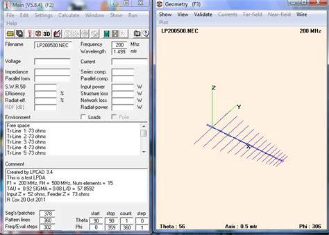 wio antenna site lpcad log periodic antenna design