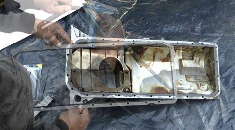 volvo pan replacement topic how to repair pan gasket car from japan