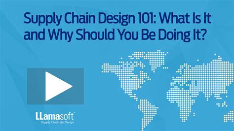 design online marketing caign resources about supply chain design and management
