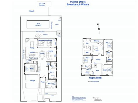 waterfront floor plans waterfront splendour elite holiday homes gold coast