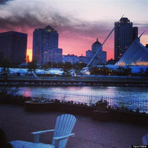 harbor house milwaukee 12 unexpected locations of opentable s top 100 scenic restaurants photos huffpost