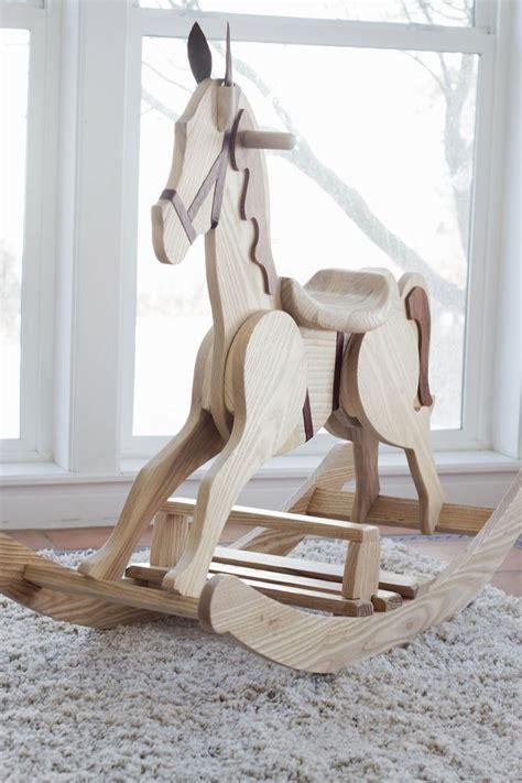 rocking horse pattern   home wood rocking horse