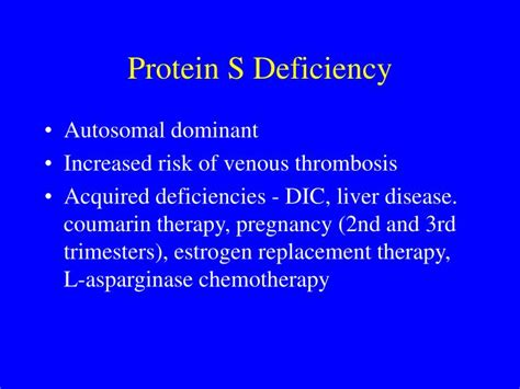 protein s deficiency ppt disorders of hemostasis thrombosis powerpoint