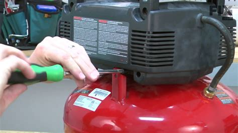 porter cable air compressor repair how to replace the pressure switch