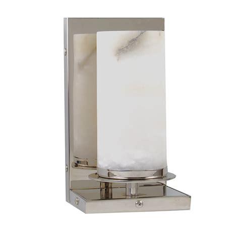 Modern Bathroom Sconce by Sconce Alabaster Shade 2 Light Modern Bathroom Wall