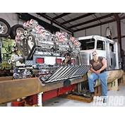 24 Cylinder Custom Truck With 12 Superchargers WTF VIDEO  ATC