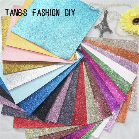 Hijaket Hijabers Premium Material 22 aliexpress buy 14 pcs set 20x22cm per pcs diy high quality glitter synthetic leather