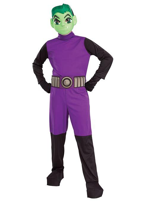 boy costumes beast boy costume