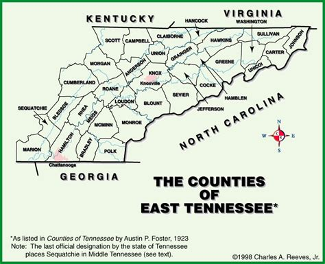 map of east tennessee pin eastern tennessee map on