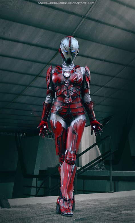 pepper potts cosplay rescue armor angela bermudez