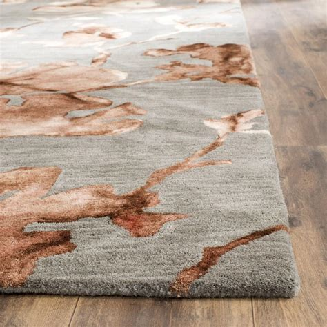 dying rugs beige tie dyed floral rug dip dye collection safavieh