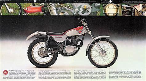 honda tl  trial motos clasicas de los