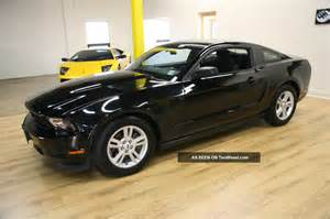 Ford Mustang 2012 Black 2012 Ford Mustang Auto Black On Black Cheapest One