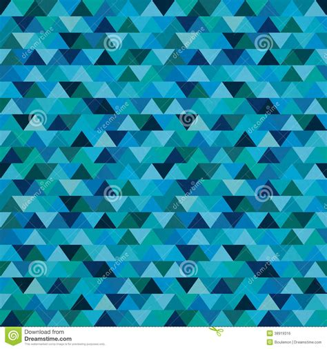 zig zag pattern blue seamless blue zig zag triangle pattern stock vector