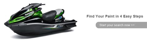 kawasaki 750 sxi pro watercraft paint colorrite