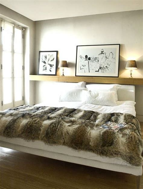 instead of a headboard shelf instead of headboard beauty in the house pinterest