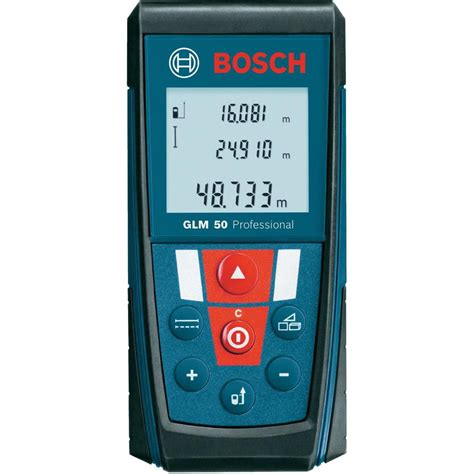 Pengukur Laser Bosch Glm 50 Professional Meteran Laser Glm 50 Bosch bosch glm 50 professional laser rangefinder reading range max 50 m from conrad
