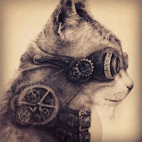 cat tattoo artist 17 best images about steunk cats on pinterest gothic