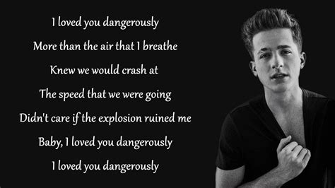 charlie puth dangerously mp3 dangerously charlie puth lyrics chords chordify