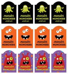 Treat Label Template by Munchies Printable Labels For Treats