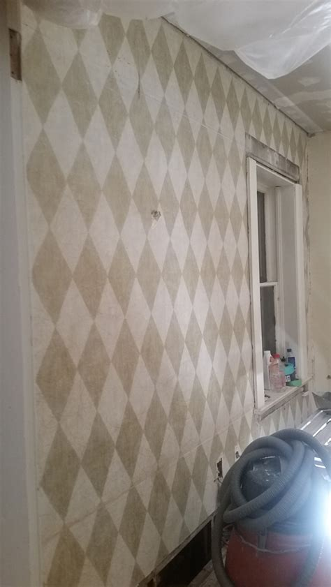 wallpaper removal horsehair plasterdrywall repair