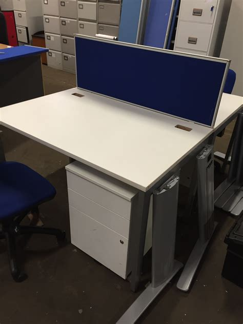 Used White Bench Desks New Used Office Furniture Used White Desk