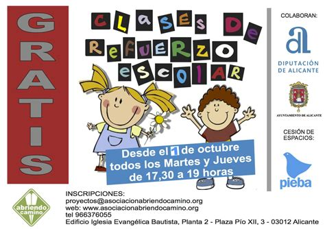imagenes refuerzo escolar inicio nuevo curso refuerzo escolar asociaci 243 n abriendo