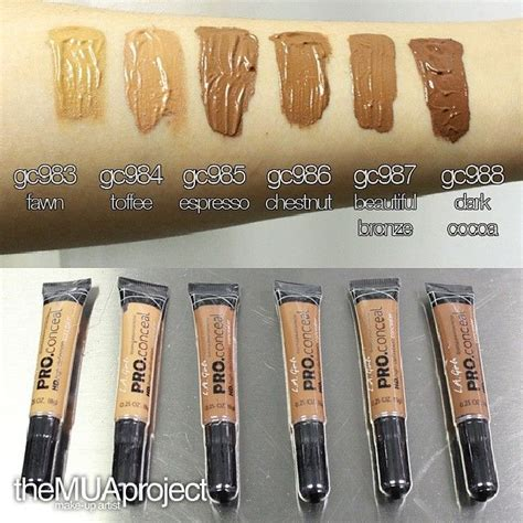 La Pro Highlighter Concealer l a pro concealer makeup what you see concealer and