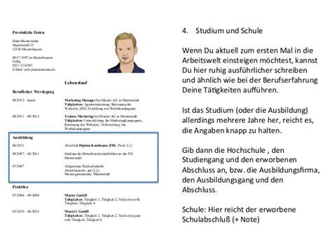 Guter Lebenslauf Schuler related for 10 lebenslauf schreiben tabellarischer