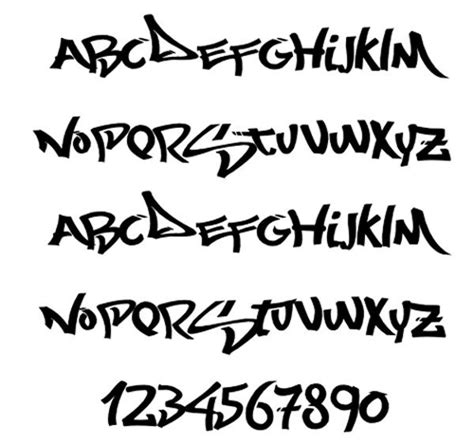 graffiti fonts fonts pinterest graffiti font