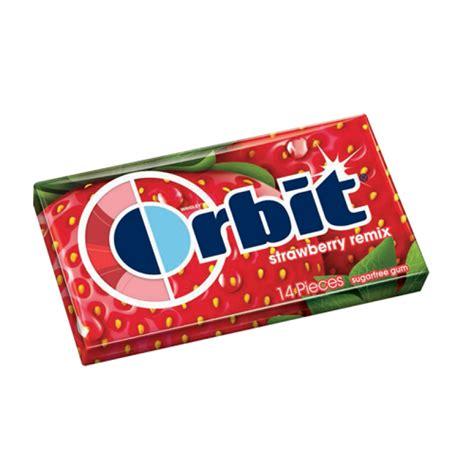 Or Gum Gum Retro Gum Orbit Gum Strawberry Remix