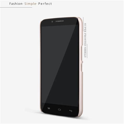 nillkin frosted shield for alcatel one touch flash plus black