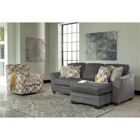 Braxlin Charcoal Sofa Chaise - braxlin sofa chaise in charcoal 8850218