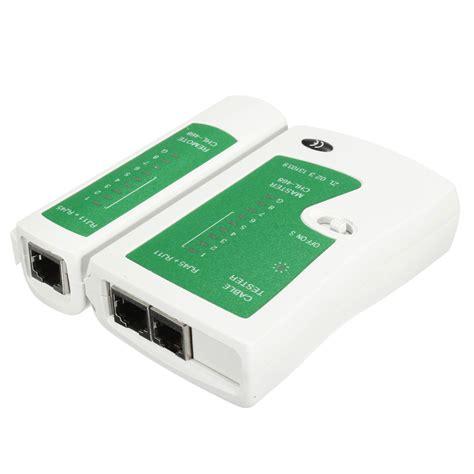 wire tester network cable tester for cat5 rj45 rj11 rj12 ethernet lan
