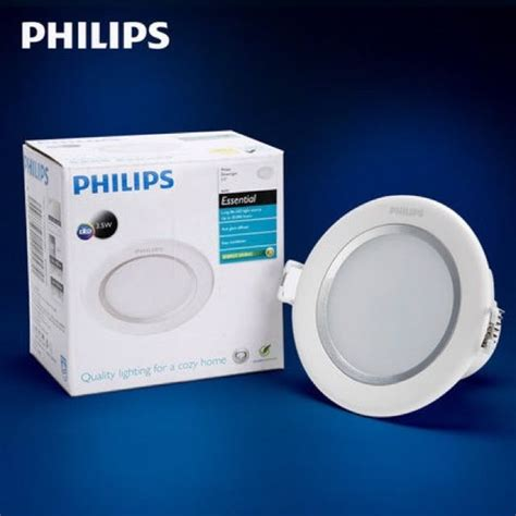 Philips Essential Led Bulb 9w Putih philips led ceiling downlight 8w white 6500k warmlight