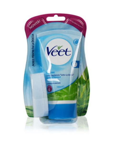 veet sotto la doccia veet crema depilatoria sotto la doccia pelli sensibili