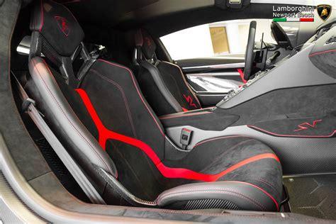 Lamborghini Seats Bianco Lamborghini Aventador Lp 750 4 Superveloce In