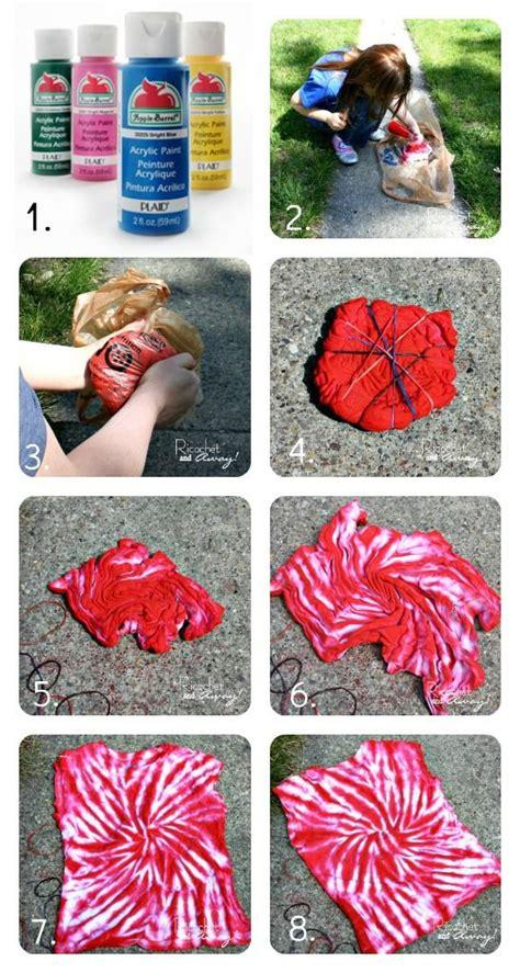 acrylic paint tie dye shirt diy no dye tie dye has been begging to tye dye a
