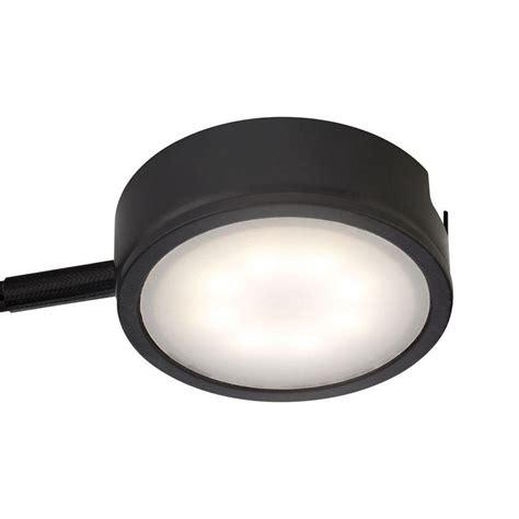 Hton Bay 6 Light Xenon Black Under Cabinet Puck Light Hton Bay Cabinet Lighting